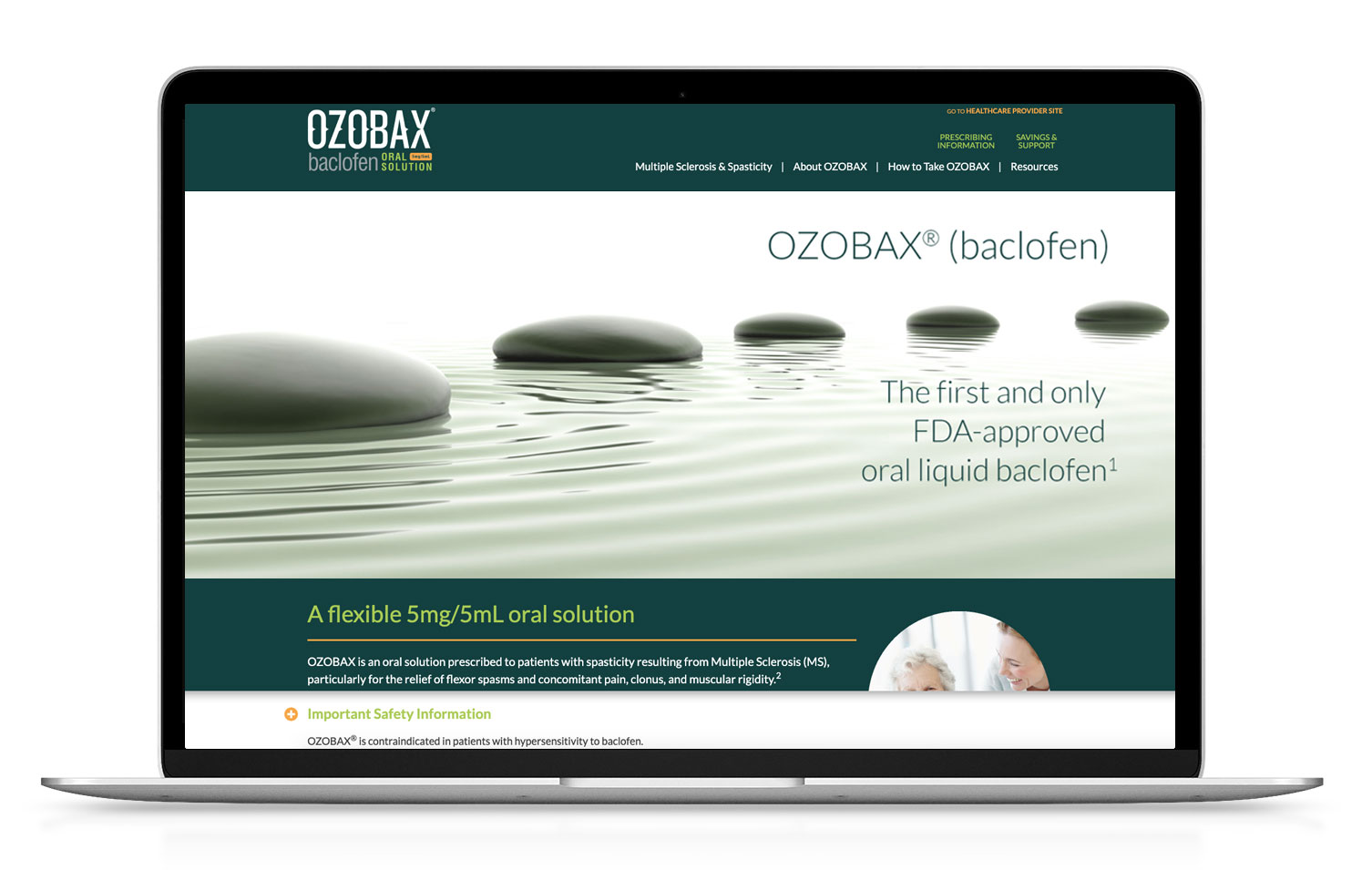OZOBAX website